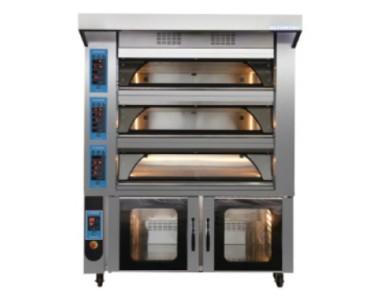 Подовая электрическая модульная печь